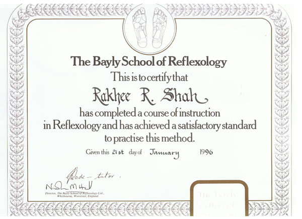 rakhee-shah-healthy-u-professional-reflexology-certificate
